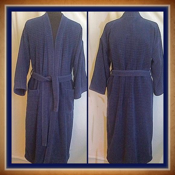 Saville Row Other | One Size Mens Navy Robe | Poshmark
